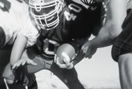 football team playing