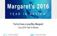 Marriott Rewards Year In Review email header