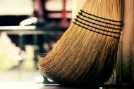 broom sweeping