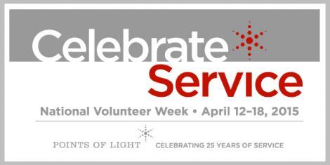 National Volunteer Week #NVW2015
