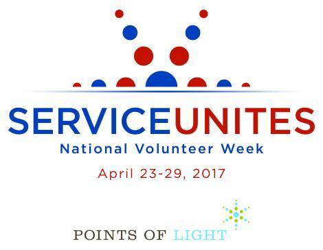 National Volunteer Week April 23-28, 2017