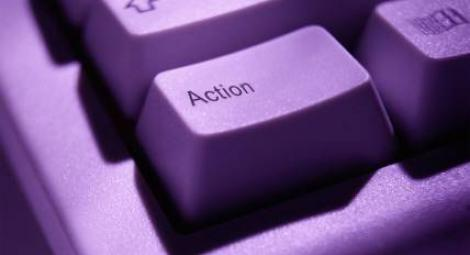 action button on computer