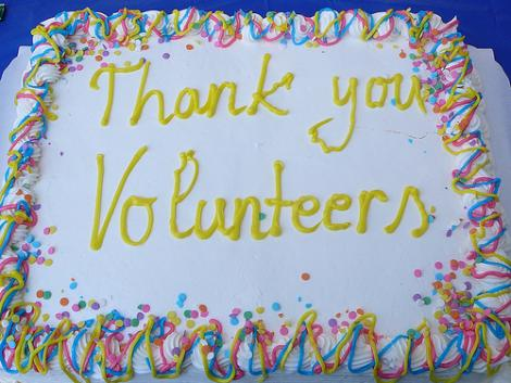 Thank you volunteers - National Volunteer Week 2013