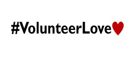 #VolunteerLove - text